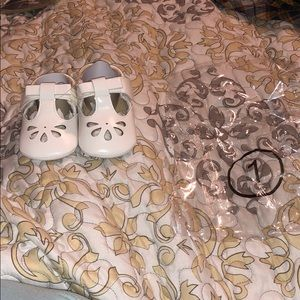 Other - BUNDLE&SAVE! Such cute white sandals for baby girl